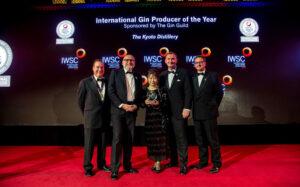 京都蒸溜所が「インターナショナル ジン プロデューサー オブ ザ イヤー」を受賞