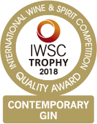 IWSC TROPHY 2018 CONTEMPORARY GIN