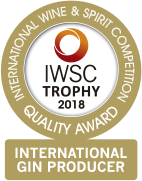 IWSC TROPHY 2018 INTERNATIONAL GIN PRODUCER