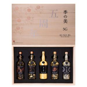 KI NO BI 5G 5-bottle set